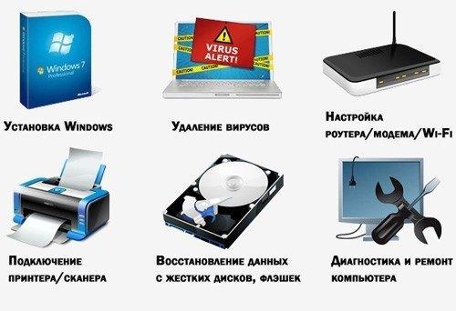компьютерные услуги Ангарск
